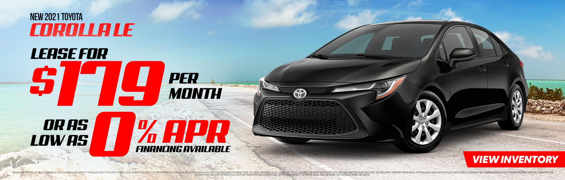 NEW 2021 TOYOTA COROLLA LE | THE YEAR OF THE TOYOTA