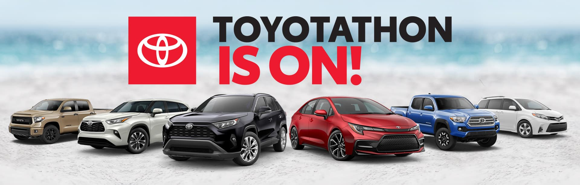 Toyotathon is ON at Toyota of Fort Walton Beach!