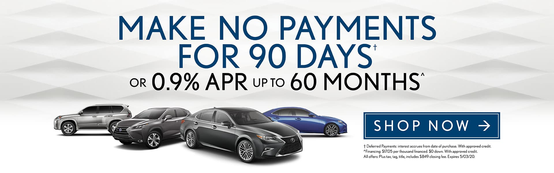 Make No Payments for 90 Days