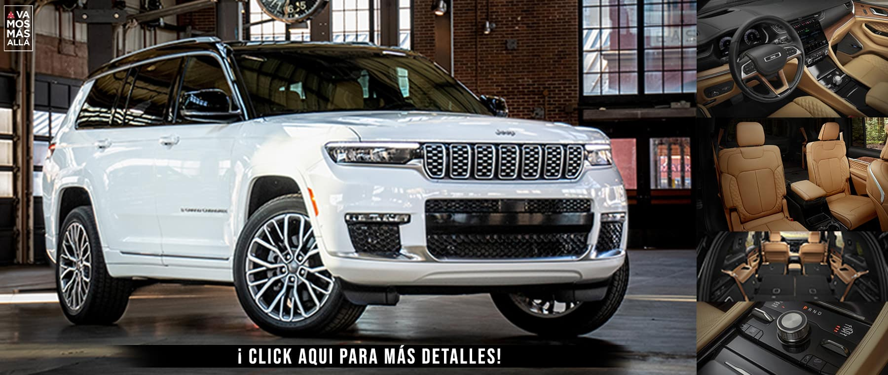 Jeep Grand Cherokee L Dealer inspire cover