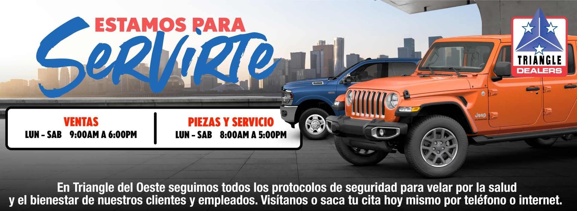 Bienvenidos A Triangle Chrysler Jeep Dodge Ram Fiat Del Oeste