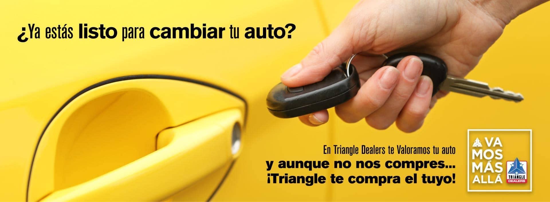 Triangle Nissan Banner - Ya estas listo para cambiar tu auto