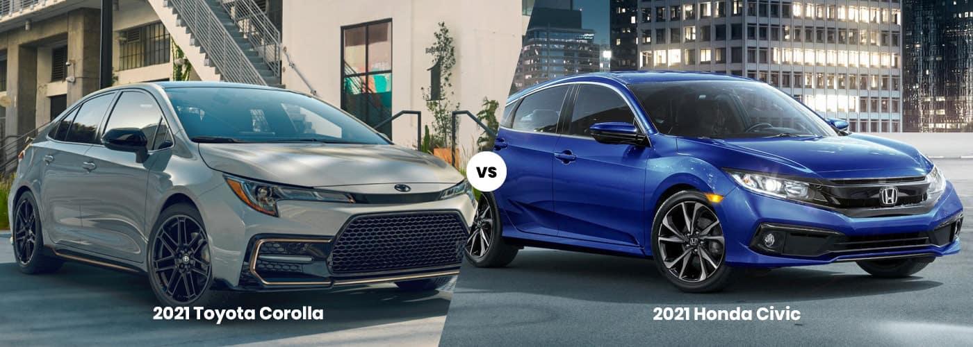 Toyota Corolla vs. Honda Civic
