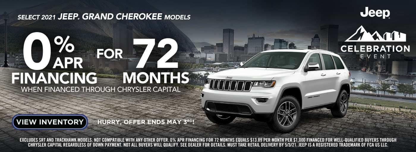 April Grand Cherokee Special