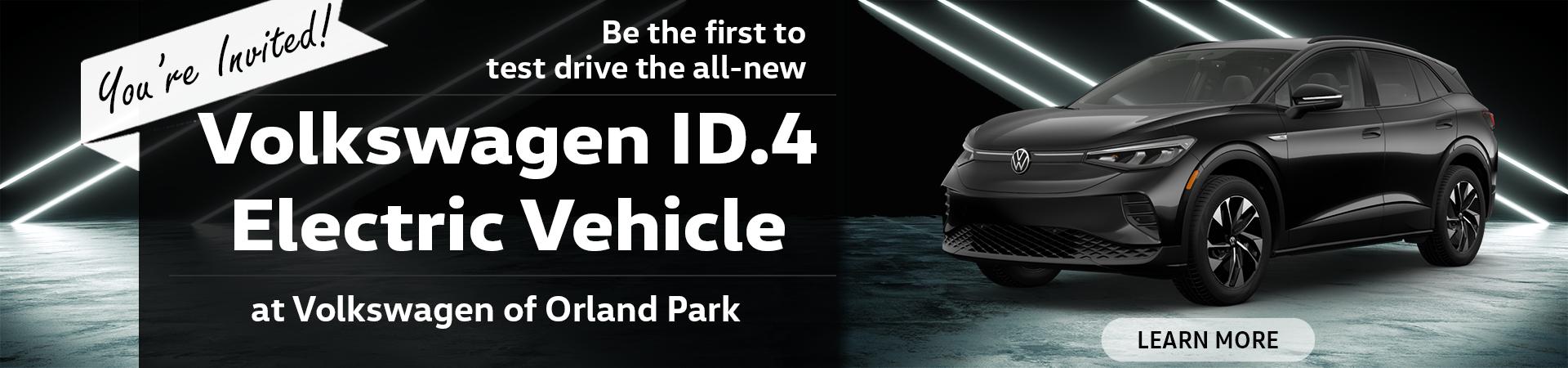 VW Orland Park ID.4 Test Drive
