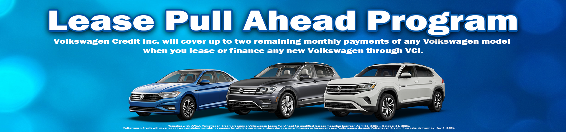 VW Orland Park_Lease Pull Ahead Program