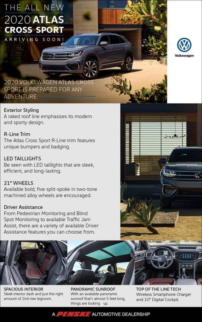 Penske Image - VW 2020 Atlas Cross Sport Arriving Soon