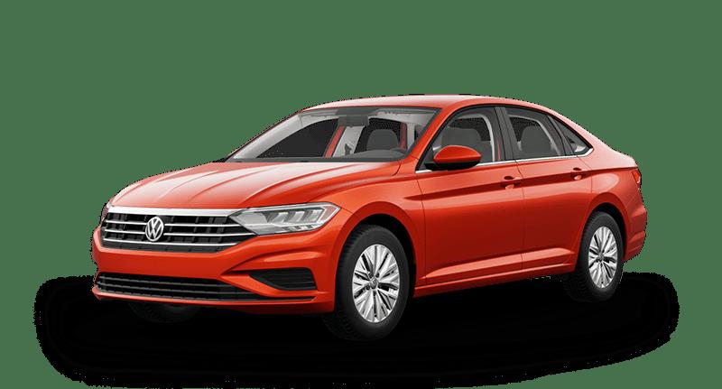 2020 VW Jetta Orange