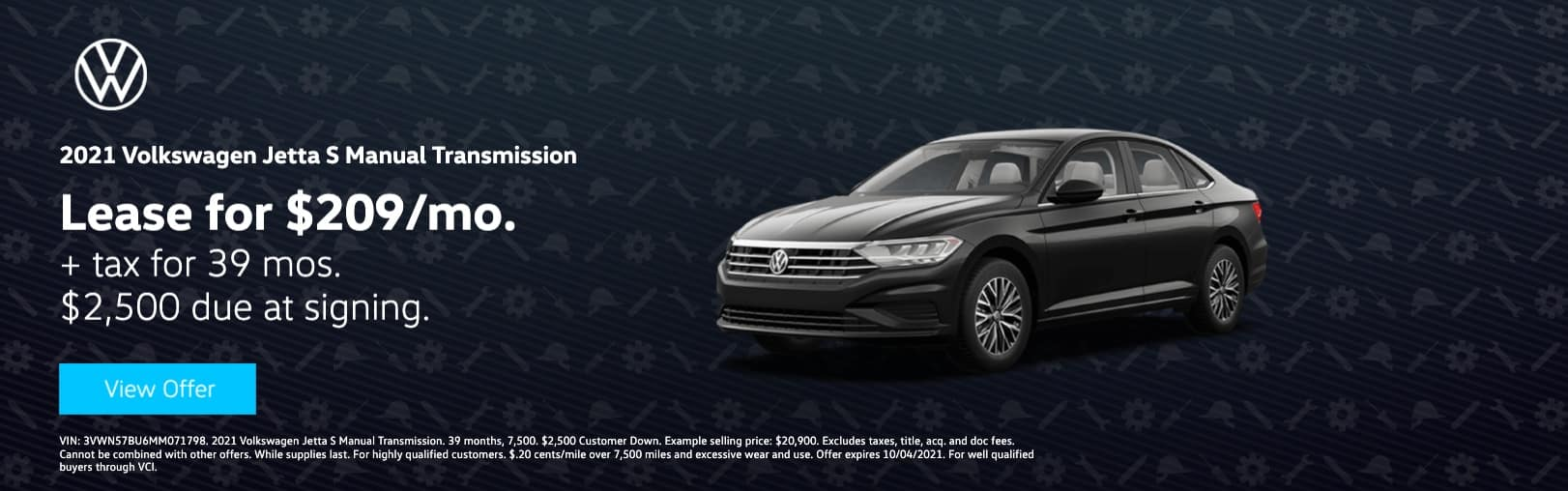 Volkswagen South Coast_test_website_3vwn57bu6mm071798_1622 x 508_2021_volkswagen_jetta_s manual transmission__3