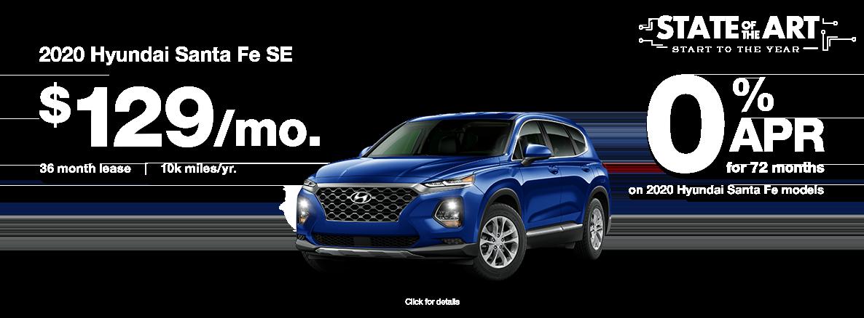 2020 Hyundai Santa Fe SE 2.4L FWD