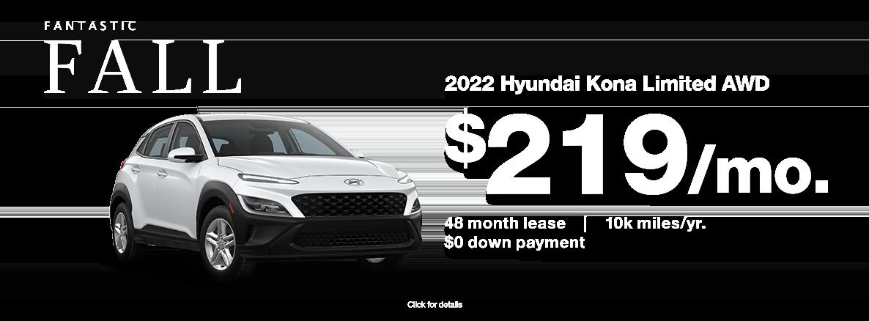 2022 Hyundai Kona for sale