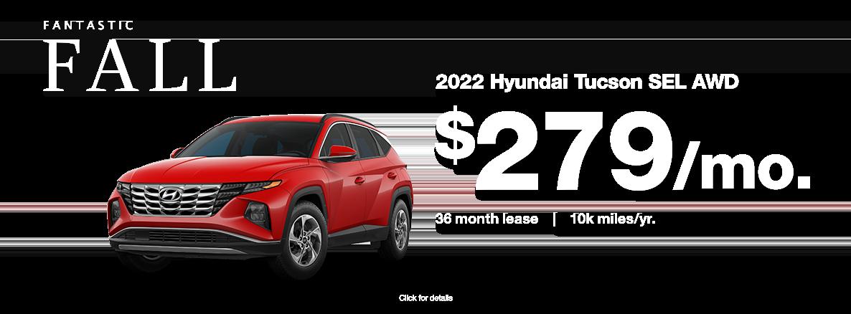 2022 Hyundai Tucson for sale