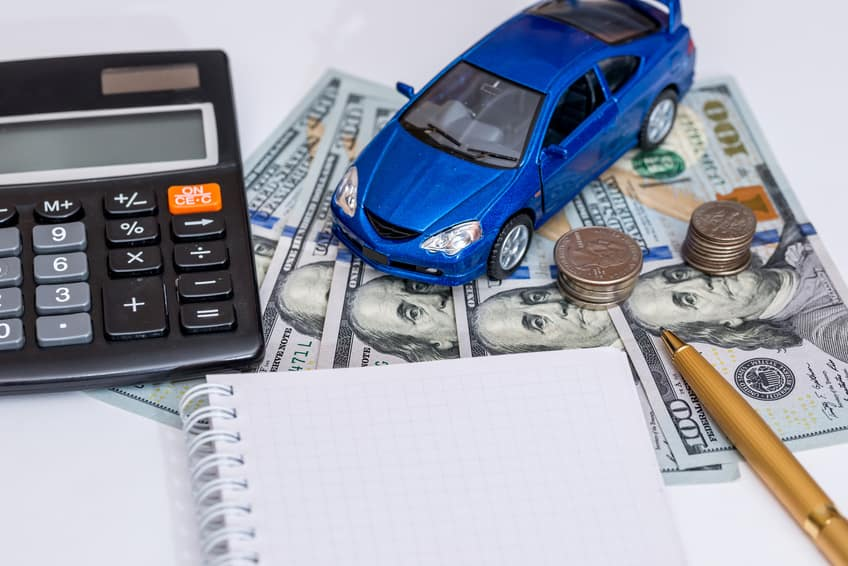 trade-in vehicle value